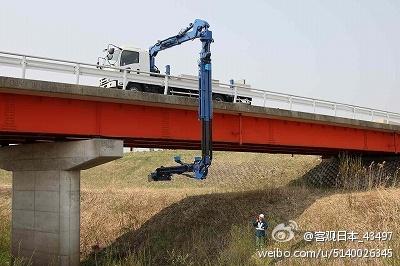蛇颈龙桥梁检测机器人