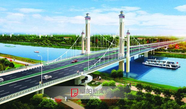 颍柳路泉河桥设计图